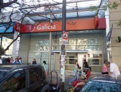 Banco Galicia sucursal Ramos Mejía Centro