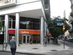 Banco Galicia sucursal Sarmiento y Santa Fe