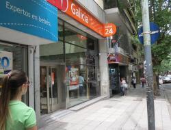 Banco Galicia sucursal Estación Agüero