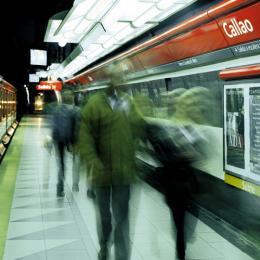 Estación Callao del Subte B